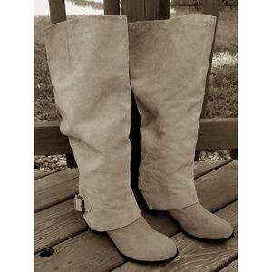 Nine West Suede Vintage American Collection Boots